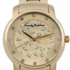 Tommy Bahama Women's Gold Tone Swarovski Crystal
